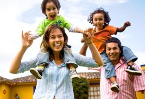 bigstock-Happy-Family-Portrait-Having-F-2099178